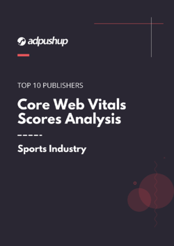 Core Web Vitals Scores Analysis- Sports Industry