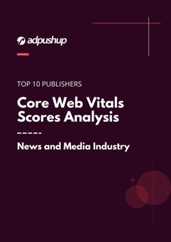 Cover - Core Web Vitals Scores Analysis